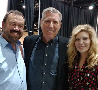 Alan with Dan Tyminski and Alison Krauss Oct 2015
